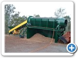 Thomas Manufacturing Dalby - Trommels: Trommel and feed conveyor